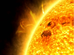 Close up of the Sun__