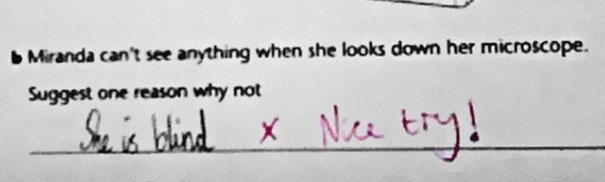 Funny Exam Answers #10_