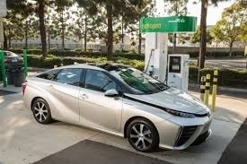 Fuel Cell Car - Toyota Mirai__